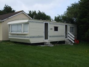 Private static caravan rental image from Padstow Holiday Park, Padstow, Cornwall