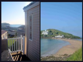 Private static caravan rental image from Challaborough Bay Holiday Park, Bigbury on Sea, Devon